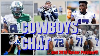 """COWBOYS CHAT & 2018 ROSTER PREVIEW: Michael Gallup Talk; Watch Our New Team LIVE At The """"Dog Pound""""!"""