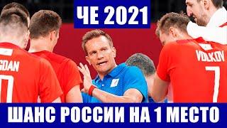Волейбол Чемпионат Европы 2021 Мужчины Турция Нидерланды Шанс для России на первое место