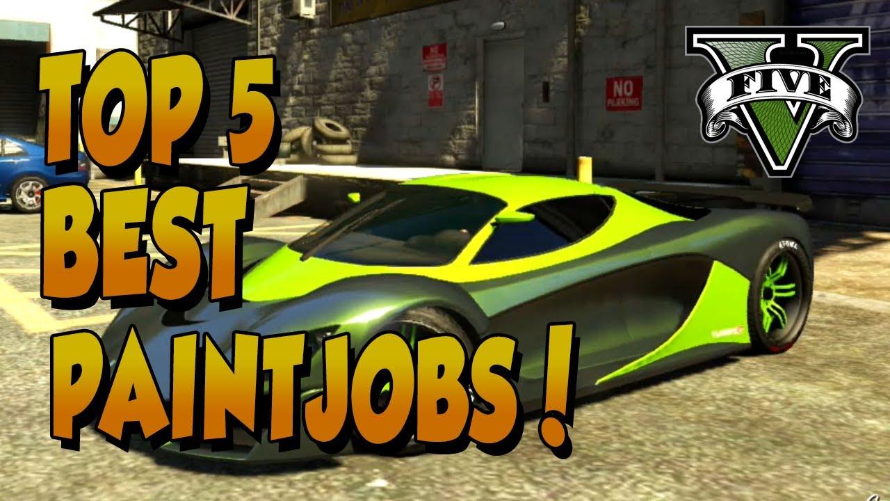 GTA5: Top 5 Best Paintjobs deel 2. Epische kleurcombinaties! Grand ...
