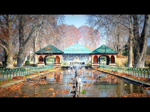 Shalimar Bagh and the pleasant view of Dal Lake | Srinagar | Kashmir | India