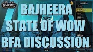 Bajheera - BG CHAT: Current State of WoW & BFA - 8.1 Unholy Death Knight PvP