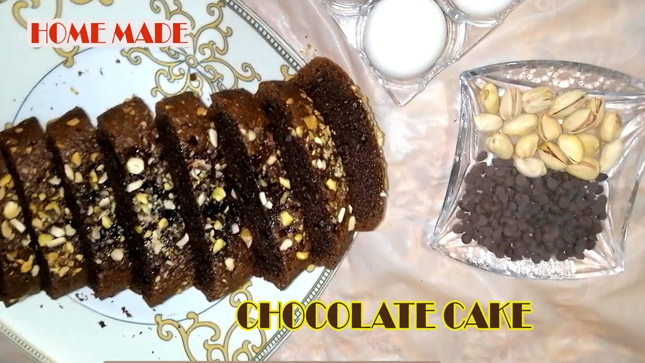 Chocolate Cake Without Oven - Easy Cake Recipe WithOut ...