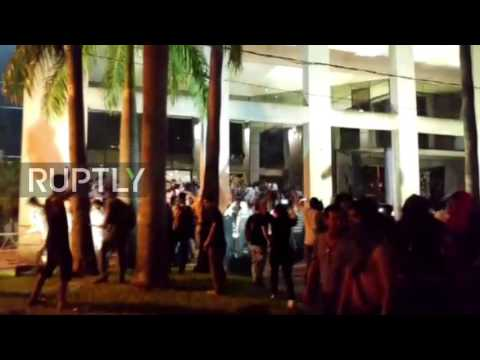 Paraguay: Congress building set alight in ongoing Asuncion protests