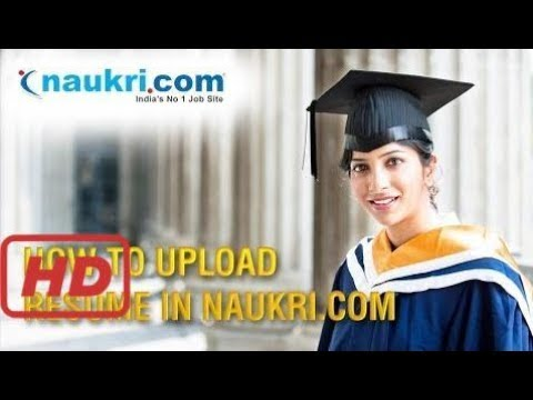 how to Create Account In Naukri and UPload Resume  In Jobs Portals