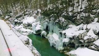 Гуамка зимой аэросъемка