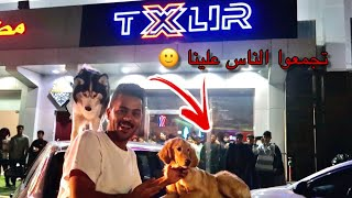 تكسلر فتح محل !! وعطيته كلبه قولدن هديه 😍