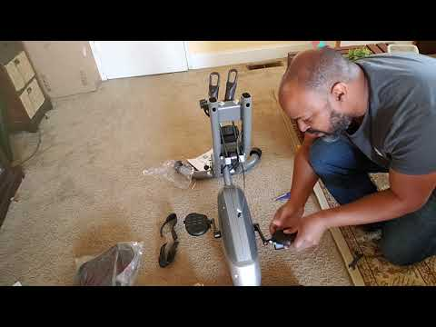 Sunny SF-B2710 Total Body Exercise Bike Unboxing And Assembly