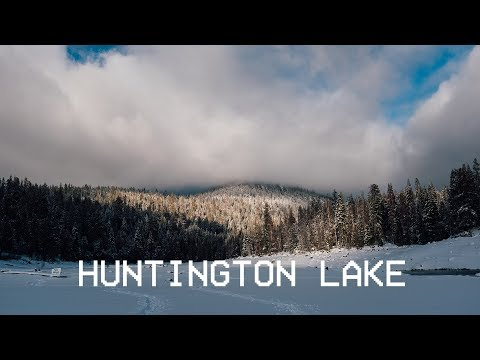 x100f // Huntington Lake in December