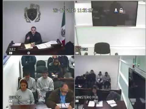 Juez Gómez Cortés le grita a ministerio público