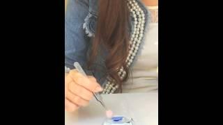 女子動画ならC CHANNEL http://www.cchan.tv 今流行っているデニムネイ...
