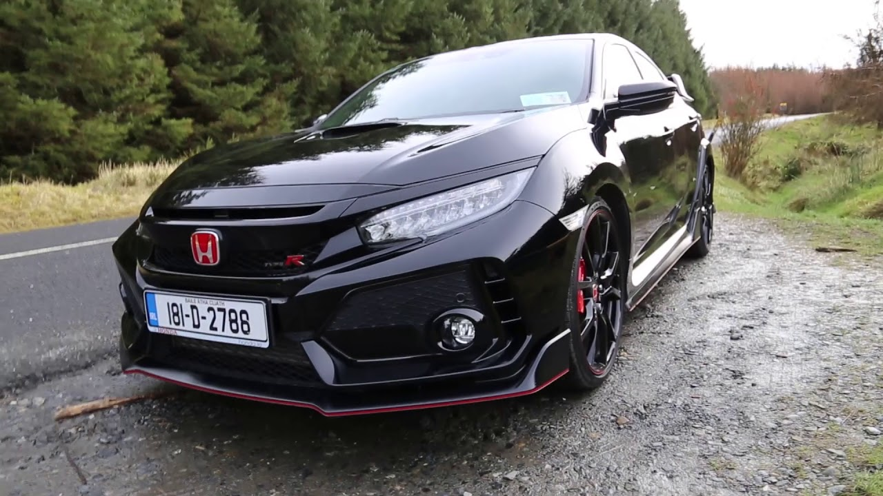 2018 honda civic type r review carzone youtube. Black Bedroom Furniture Sets. Home Design Ideas