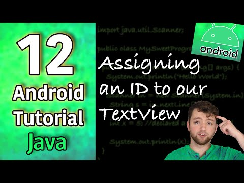 Android App Development Tutorial 12 - Assigning an ID to our TextView | Java thumbnail