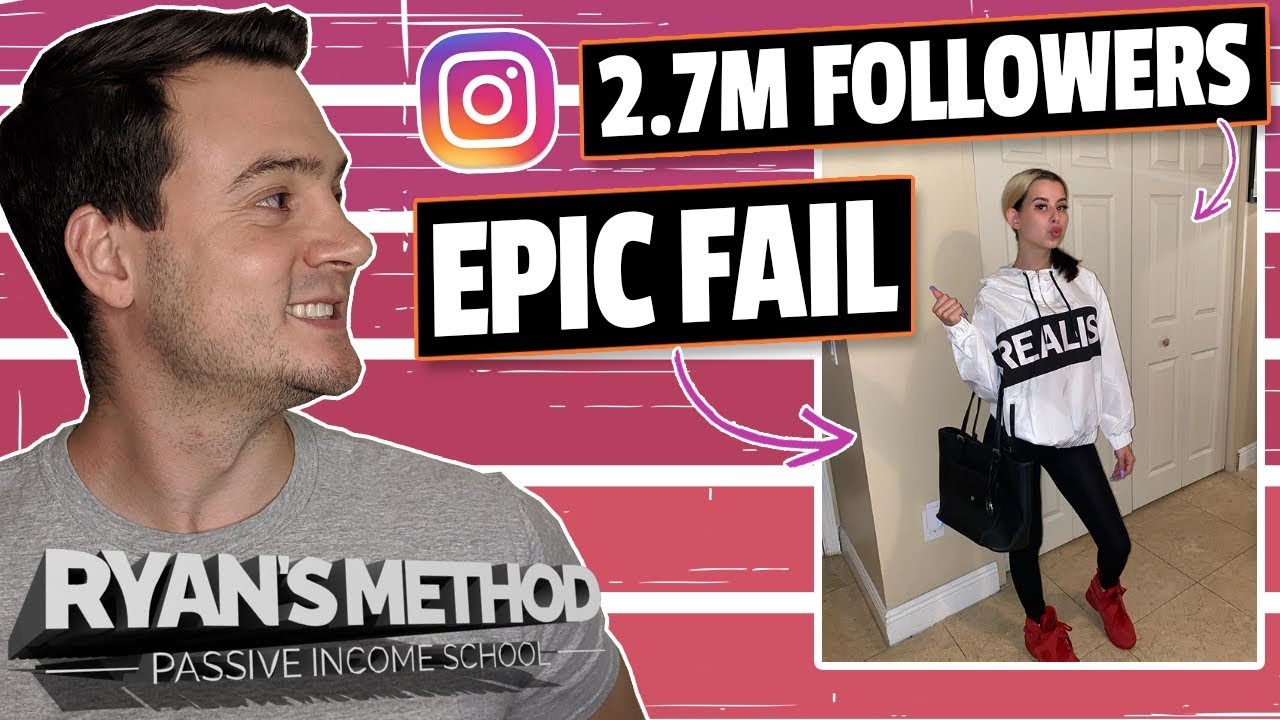 EPIC FAIL! Instagram Influencer (2.6M Followers) Couldn't Sell 36 T-Shirts 😂