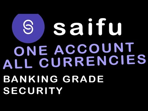 SAIFU, One Account Holds Both Fiat & Crypto, Plus Buy Crypto W/Visa