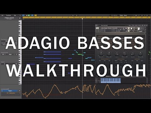 8Dio Adagio Basses - A Part Of The Anthology Series Walkthrough