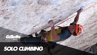 Fabian Buhl's Winter and Summer Solo Ascent of Wetterbockwand | Gillette World Sport