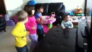 Kids Dancing Vegetables!
