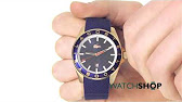 5c3e68cba4d Men s Lacoste Durban Stainless Steel Watch 2010734 - YouTube
