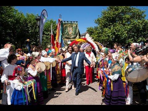 Retransmision dia de Cantabria 2017 en Cabezón de la Sal