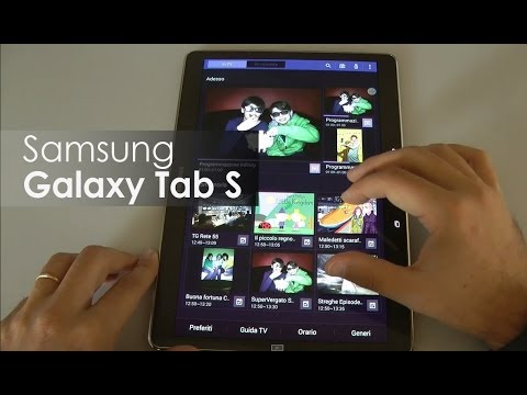 Samsung Galaxy Tab S 10.5 la recensione di HDblog