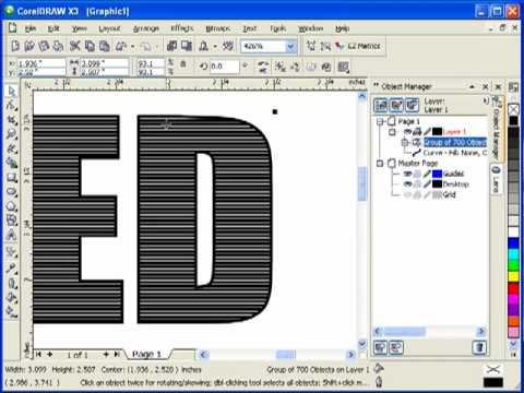 Coreldraw engraving fill for engraver engravers for Cnc lettering software