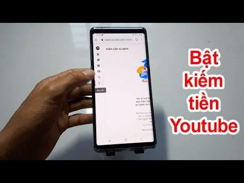 Cách bật kiếm tiền trên Youtube bằng điện thoại 2020
