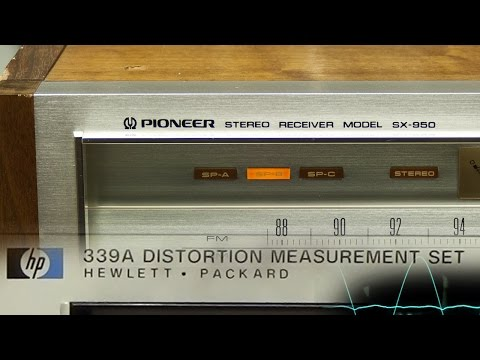 Pioneer SX-950 objective performance check