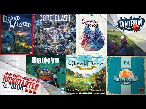 board games on kickstarter july 2020 2nd half
