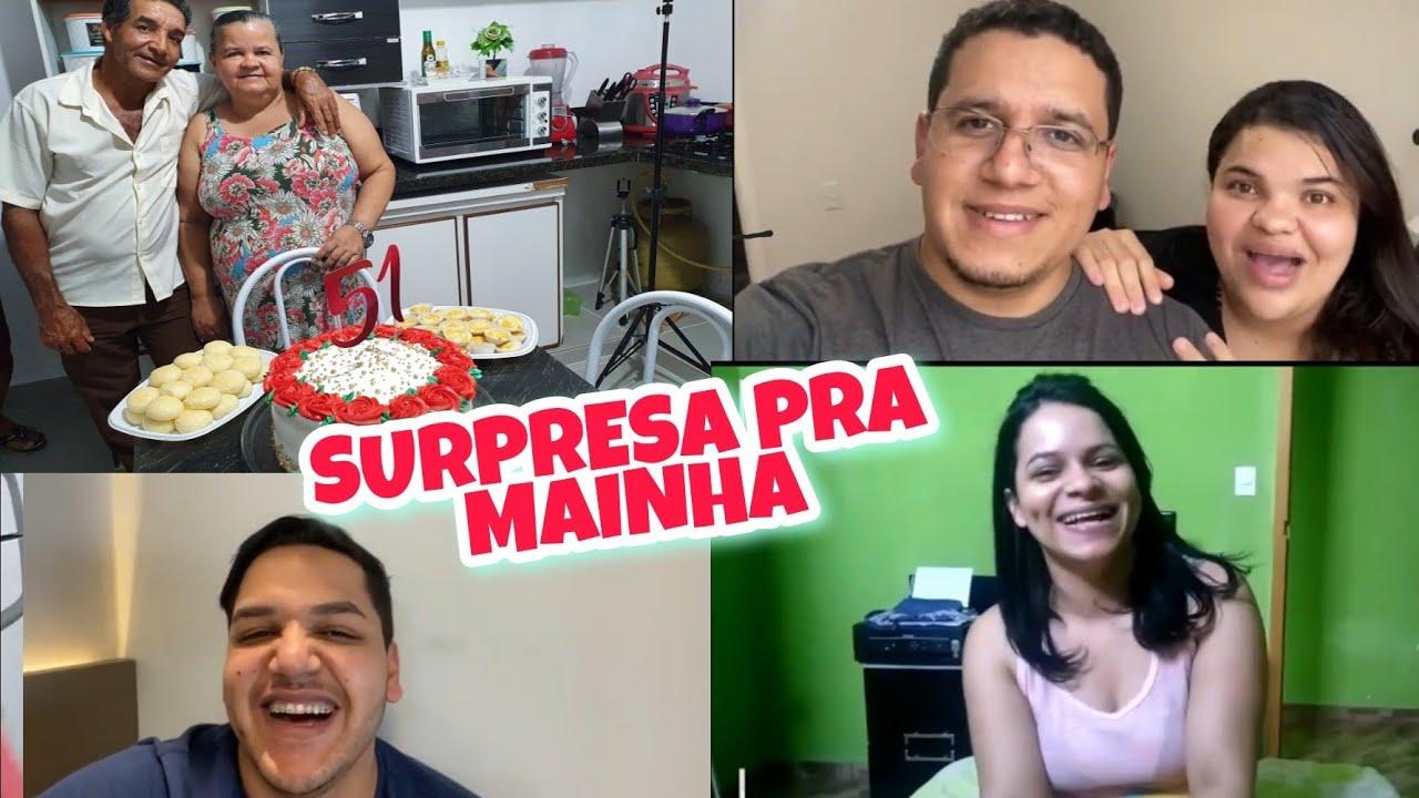 PAINHO FEZ SURPRESA DE ANIVERSÁRIO PRA MAINHA(teve homenagem dos parentes de São Paulo)