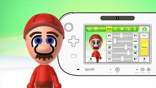 Mii Maker How to make Mario Mii Free Tutorial Walkthrough Mario Bros  Nintendo