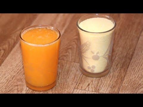 عندك-كأس-سميد-وكأس-عصير-برتقال-غتحضري-كوطي-وفطور-مبرعين-في-10-دقائق