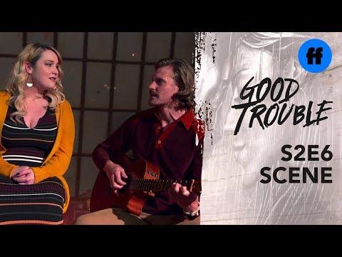 "Good Trouble Season 2, Episode 6 | Dennis & Davia Sing ""Falling Slowly"" | Freeform"