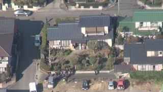 住宅に血まみれ男女の遺体 熊本、殺人事件か