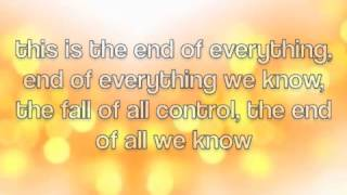End of Everything - Mark Owen (lyrics)