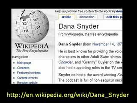 Snydecast: Wikipedia Is All Bullshit