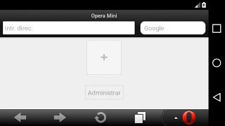 Opera Mini 7.6.4 Handler / Android Lollipop (5.x) - Marshmallow (6.x)