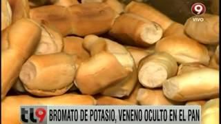 Bromato de potasio en el pan
