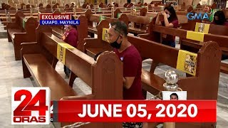 24 Oras Express: June 5, 2020 [HD]