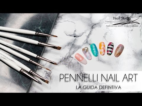 PENNELLI NAIL ART NAIL STUDIO - NAIL BRUSHES TUTORIAL