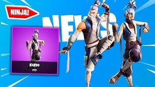 "new ""NINJA SKINS"" coming to fortnite soon! - KENJI AND KONU - Fortnite News & Leaks"