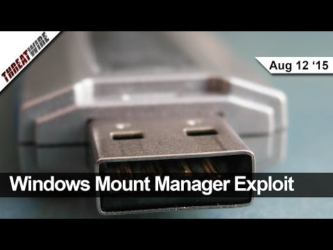 Windows Mount Manager Exploit, Square Readers Get Hacked, Volkswagen Silences Research - Threat Wire