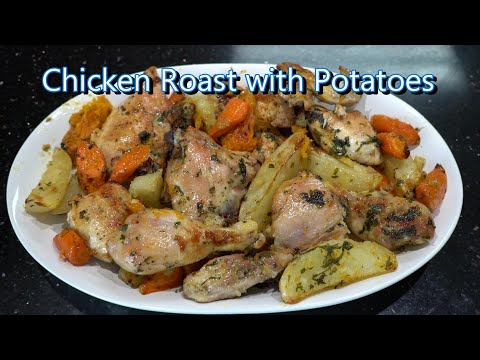 Italian Grandma Makes Chicken Roast With Potatoes