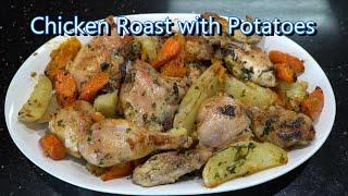 Italian Grandma Makes Chicken Roast with Potatoes