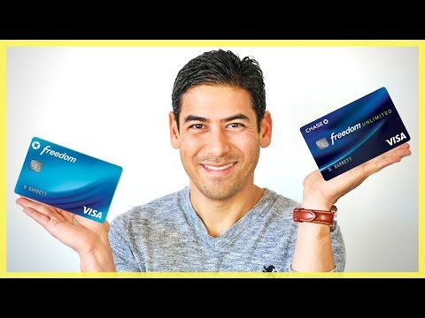 Chase Freedom vs Freedom Unlimited | Which Credit Card is Right for You?