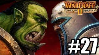 NIGDY NIE OPANUJE GRYFÓW :( - Let's Play Warcraft 2 Tides of Darkness #27 [KAMPANIA LUDZI]