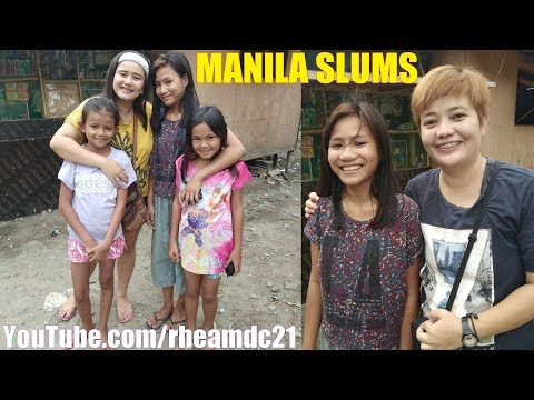 Travel to Manila Philippines and Say Hello to These 3 Beautiful Filipina Girls. The SLUMS of MANILA