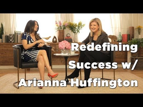 Arianna Huffington & Marie Forleo Discuss Thrive
