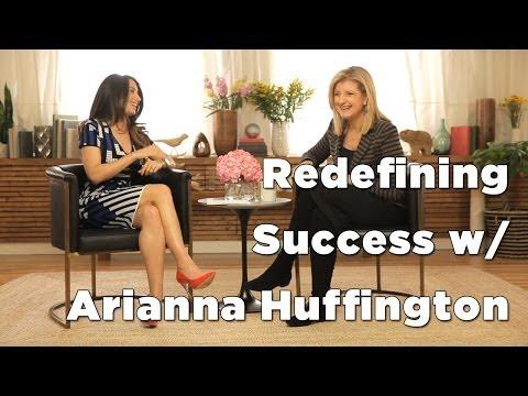 Arianna Huffington & Marie Forleo Discuss Thrive