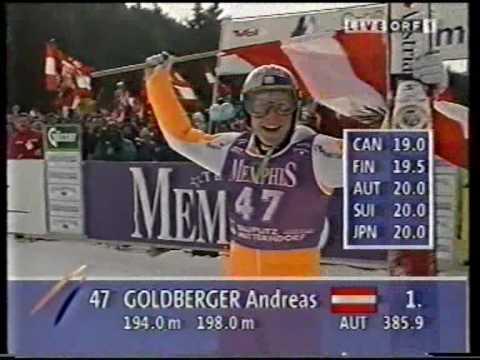 Andreas Goldberger - Kulm 1996 HQ