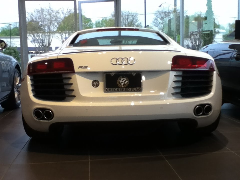 Audi R Checkered Flag VA Dealership Tour YouTube - Checkered flag audi